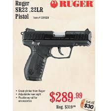 bushmaster black friday sale ruger sr22 22lr pistol 289 99 sportsman u0027s warehouse black