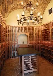 Wine Cellar Chandelier Villa Brava Residence By Phillips Luxury Homes