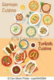 german cuisine menu german and cuisine icon for menu design german and