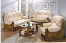 Leather Livingroom Sets Wooden Sofa Set Designs Http Www Woodesigner Net Offers