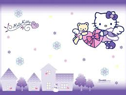 cute wallpaper hd hello purple wallpaper desktop