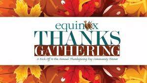 equinox thanksgiving to feed up to 10 000