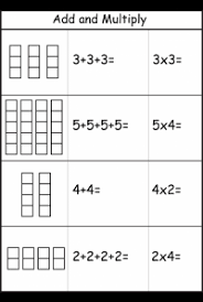 multiplication u2013 repeated addition free printable worksheets