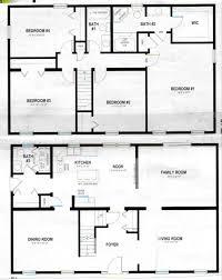 simple 2 story house plans crafty design ideas simple 4 bedroom 2 story house plans 12 17