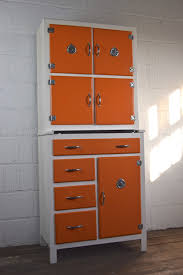 fantastic orange 1950 u0027s kitchen larder u2014 vintage mischief
