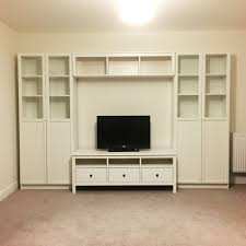 ikea storage system hemnes tv stand bench billy bookcase in white