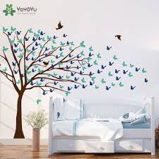 compare prices on tree wall decal for nursery online shopping buy creative design wall decal home self big tree wall stickers for kids rooms kids nursery removable