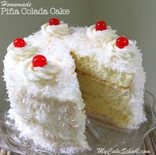 piña colada cake recipe from scratch my cake