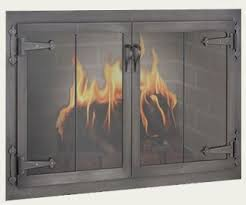 Polished Brass Fireplace Doors by Fireplace Doors Guide