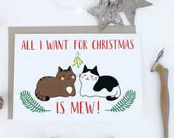 christmas cards to print keep it classy for christmas cat
