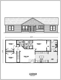 Ranch Style Floor Plans House Planskill Rancher Rural Home With