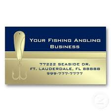 9 99 Business Cards Professional Fishing Guide Service Business Card Fishing