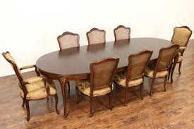 country french dining room sold baker cherry country french dining set table 2 leaves 8
