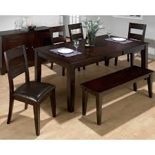 dining room tables with a bench in dining table sets with bench