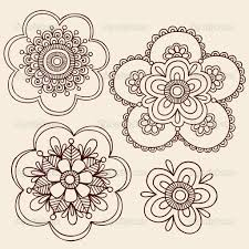 flowers henna tattoo design on hand in 2017 real photo pictures