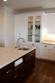 Kitchen Cabinet Paper See The Counter Paper Towel Holder Our Cabinet Maker Built