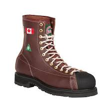 boots canada 34410 steel toe lace work boots csa grade 1