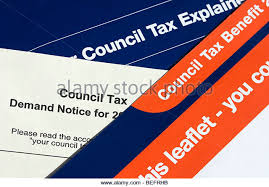 Westminster Council Tax Leaflet Tax Letter Uk Stock Photos Tax Letter Uk Stock Images Alamy