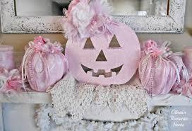 olivia u0027s romantic home shabby chic pink pumpkin fall