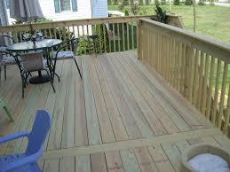 pressure treated wood deck in seven valleys pa stump u0027s decks