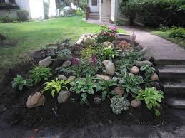Backyard Hill Landscaping Ideas Rock Landscaping On Hill Articlespagemachinecom