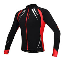 windproof cycling jackets mens amazon com santic men s cycling jacket windproof fleece thermal