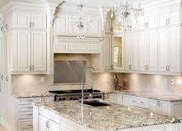 kitchen luxury white kitchen interior design granite countertop