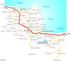 Crete Map Map Of The Apokoronas Crete