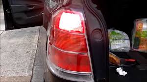 vauxhall rear light replacement youtube