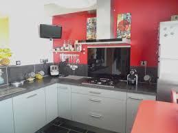 cuisine avec mur en cuisine mur couleur photos de design d intérieur et