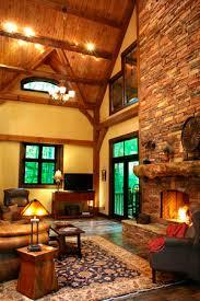 timber frame great room lighting custom design goshen timber frames