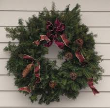 fresh wreaths real christmas trees vermont christmas trees decorated fresh