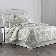 Medallion Bedding Wedgwood Laurel Leaves Comforter Set New Bedding Styles
