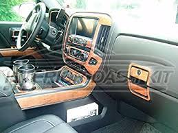 Gmc Sierra 2015 Interior Amazon Com Gmc Sierra Denali Z71 Interior Burl Wood Dash Trim Kit