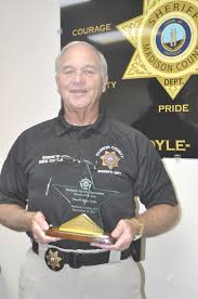 coyle named sheriff of the year news richmondregister com