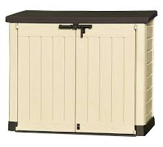 Keter Com Keter Store It Out Max Outdoor Plastic Garden Storage Shed 145 5