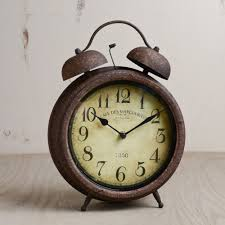 table clock with alarm old time table clock transitional alarm