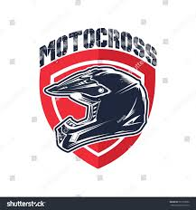 vintage motocross helmet motocross helmet vector illustration stock vector 597739652