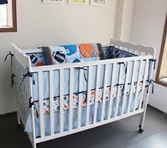 Sport Crib Bedding New 7 Pieces Baby Boy Sport Crib Bedding Set 714819130840 Ebay