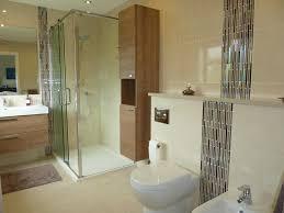 on suite bathrooms spacious en suite shower conversion sculptures sliding door shower