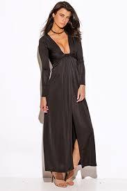 shop black sashed smocked off shoulder long sleeve formal evening