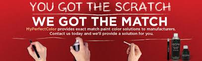 touch up paint exact match color u0026 finish aerosol spray paint