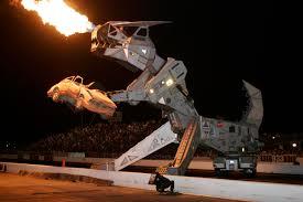 robosaurus returning firebird international raceway 2011