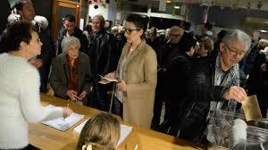 tenue bureau de vote primaire à droite fillon en position de pour le second tour