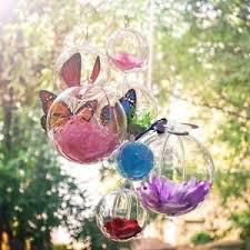 5 6 8 10 cm 5 100pcs fillable clear plastic baubles hanging balls