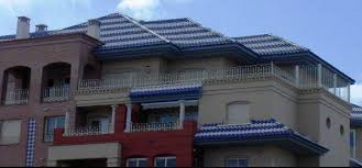 Mediterranean Roof Tile Colored Tiles For Roofs Homexyou Com