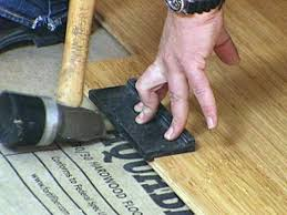 how to install bamboo flooring hgtv