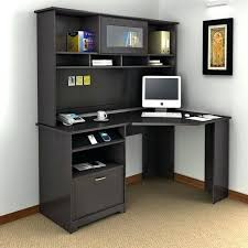 Black Corner Computer Desks For Home Corner Computer Desk With File Cabinet Small Black Corner Desk
