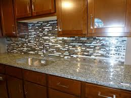 Kitchen Backsplash Glass Tiles Mosaic  Wonderful Kitchen Ideas - Glass kitchen backsplash