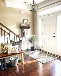How Big Should Rug Be In Living Room Best 25 Entryway Rug Ideas On Pinterest Entryway Runner
